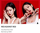 Hera Red Vibe Volume Lipstick Black pink Jenny Tint (4ml) Sensual Intense Velvet, K pop beauty, Korea Cosmetic (#337 Red Vibe)