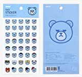YG Entertainment Official Merchandise KRUNK Stickers Lap Tops SMARTPHONS Eight Varieties (Universe)