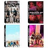 4 Pack / 120 Pcs Pcs Kpop BLACKPINK Photocards Lomo Card with Greeting Card Postcards Box