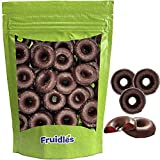 Fruidles Chocolate Covered Raspberry Jelly Rings, Kosher for Passover, Gluten Free (1 Pound)