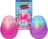 Hatchimals Pixies, Mermaids 2-Pack of Collectible Dolls with Real Ponytails and 6 Accessories (Styles May Vary)