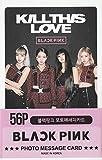 K-POP Group 2019 New Photo Message Card 56pcs set (Postcard / 56sheets) (BLACKPINK)