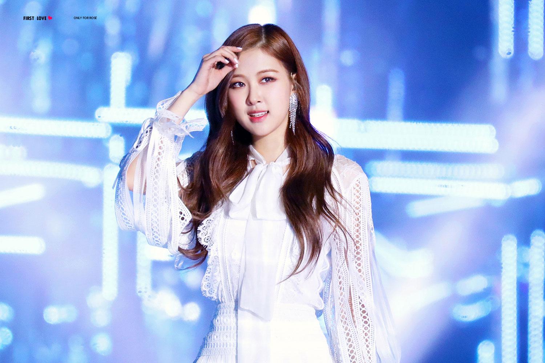 Blackpink Rose Special Stage Sbs Gayo Daejun 2017 13