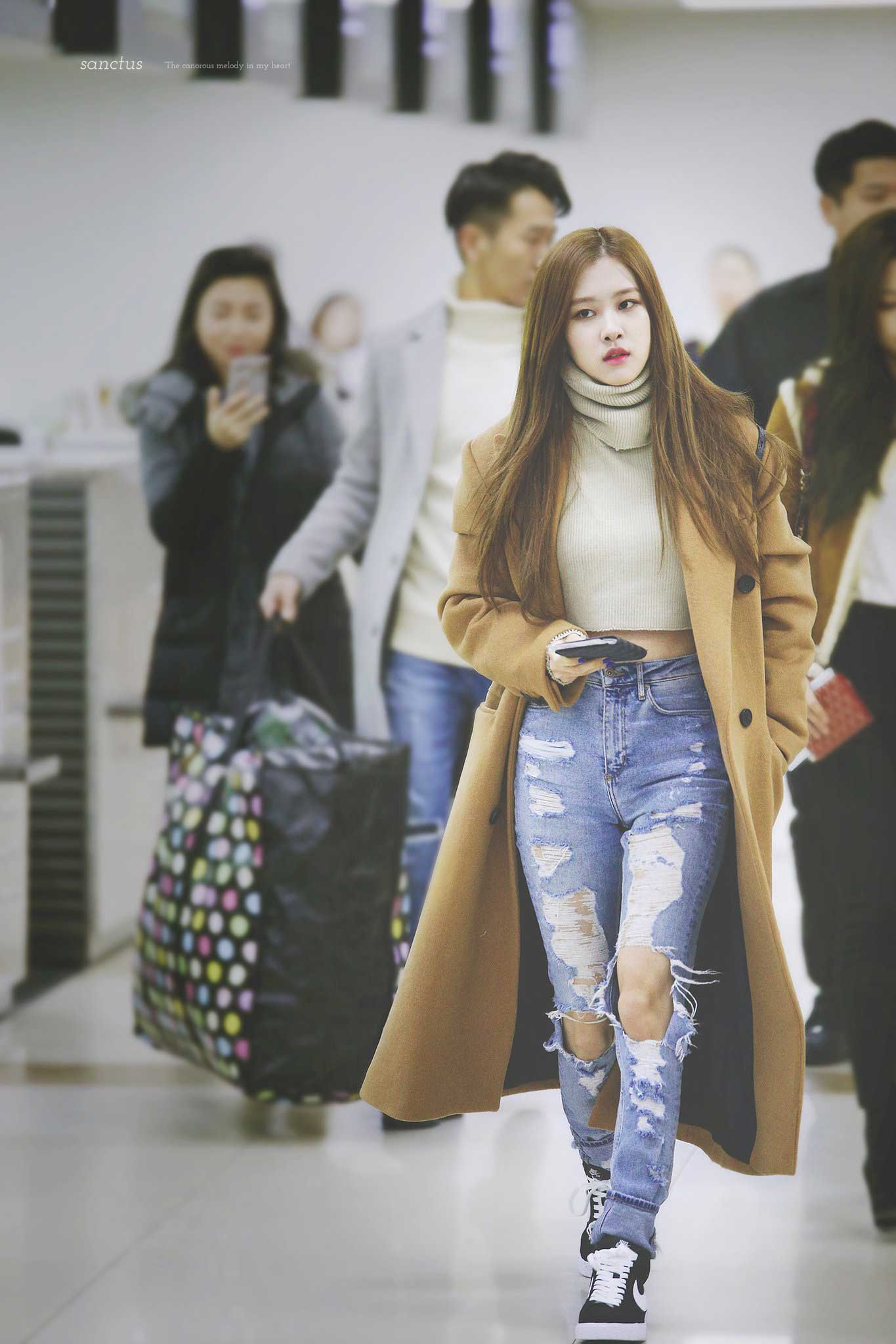 5 Fashion Trends For Fall 2013 From Berlin: Blackpink-Rose-Airport-Fashion-5
