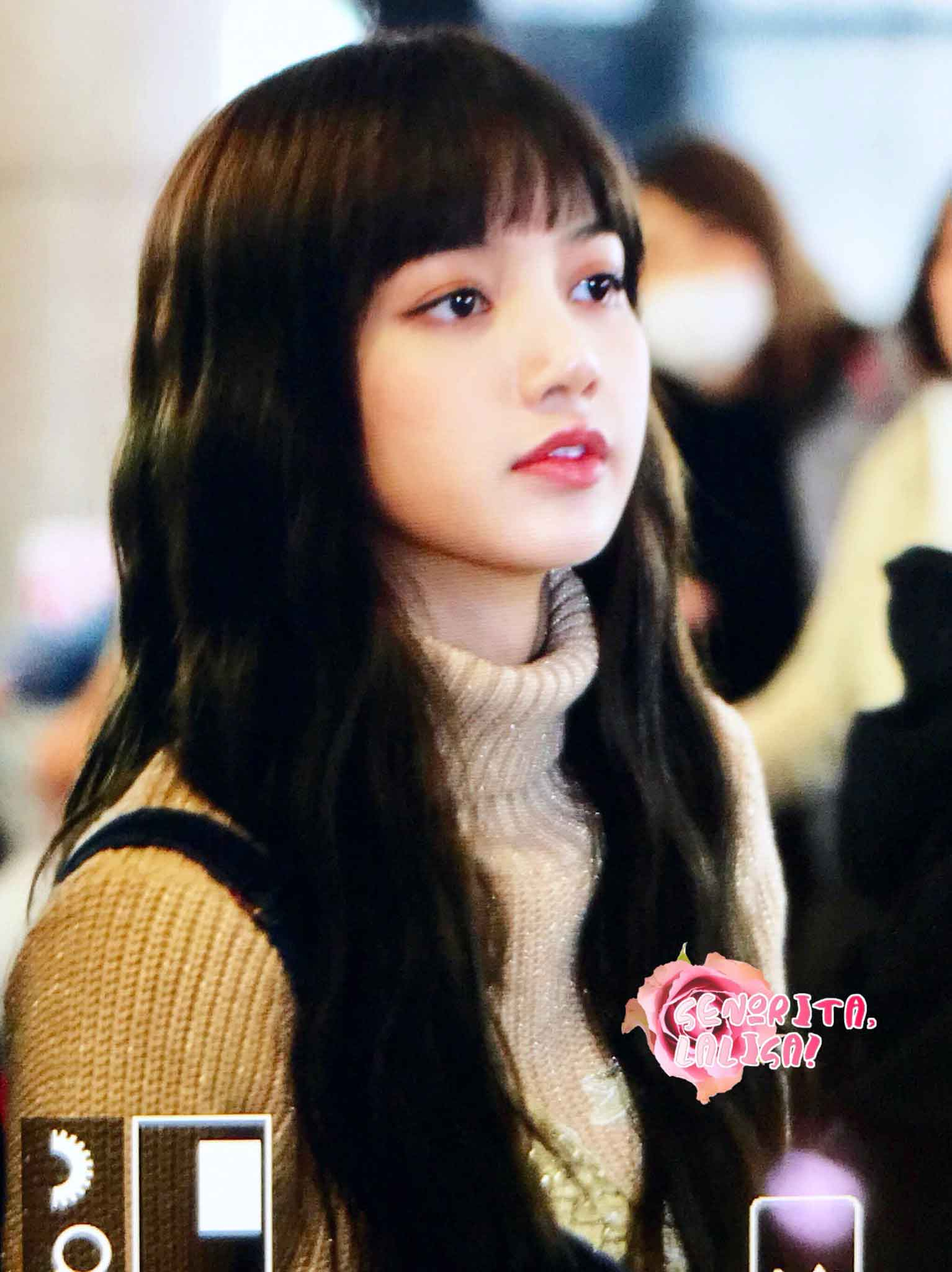 Blackpink Lisa Airport Fashion 27 March To Japan 13
