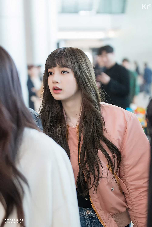 Blackpink Lisa Airport Fashion 25 March 2018 Jeju Island 2
