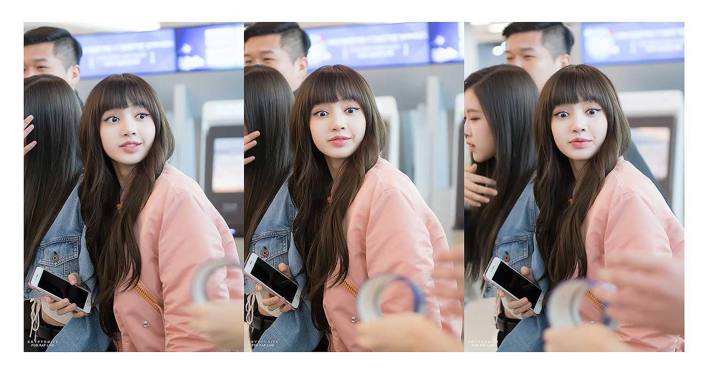 Blackpink Lisa Airport Fashion 25 March 2018 Jeju Island