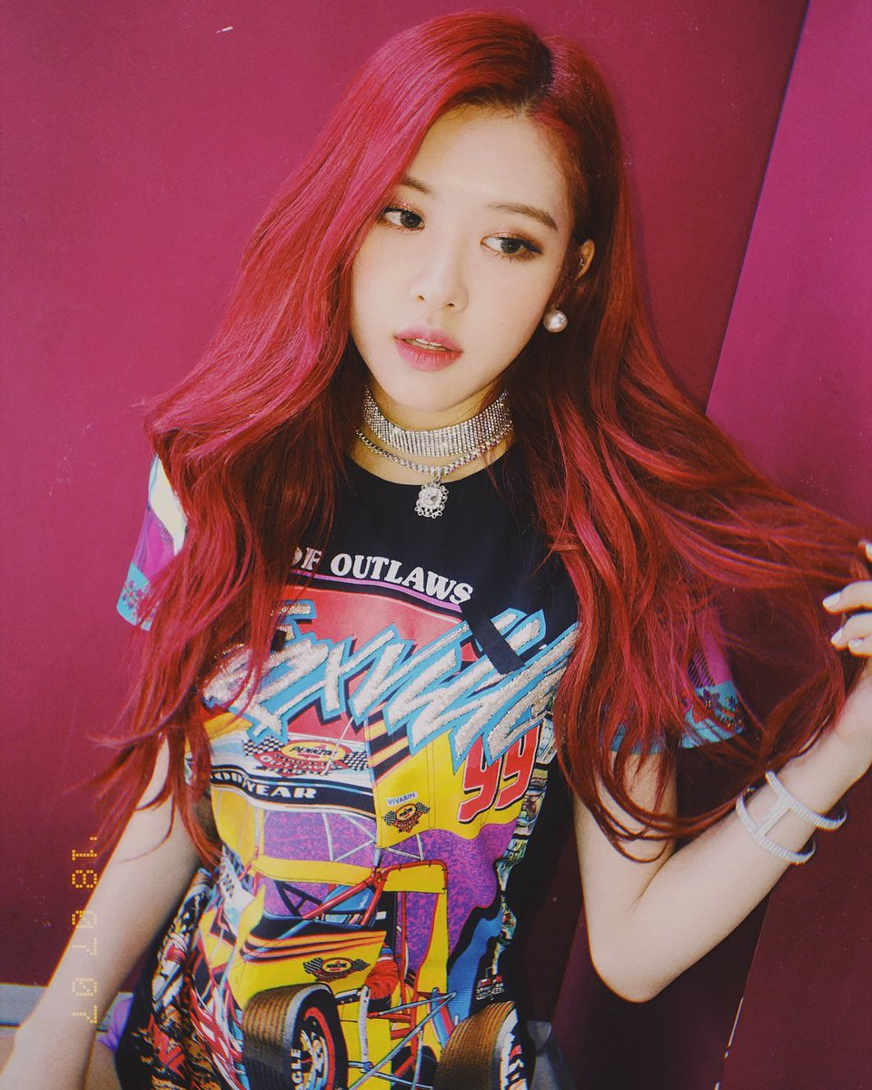 Blackpink Rose Instagram Photo July 7 2018 Roses Are Rosie 5