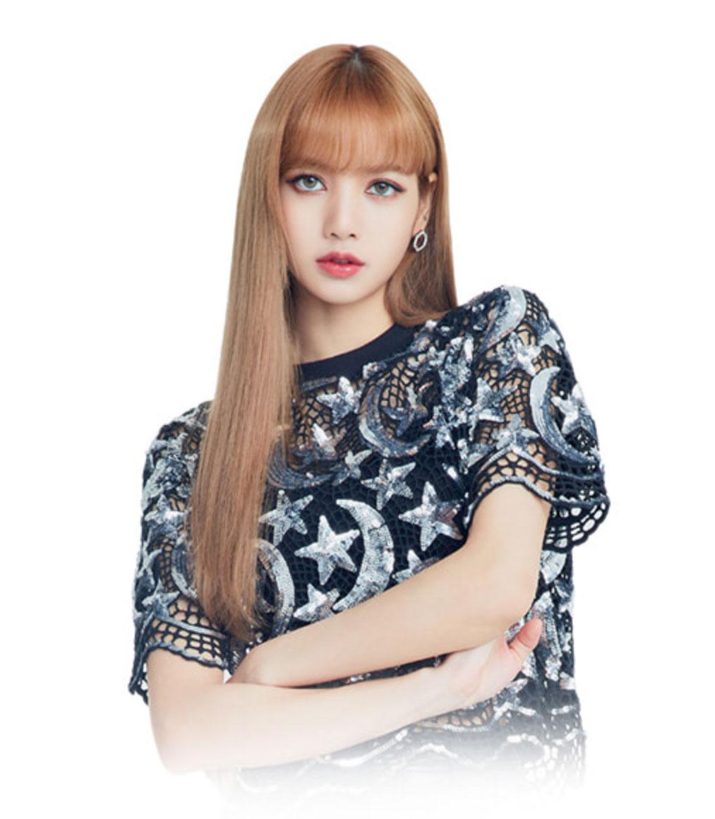 Blackpink Lisa Olens Commercial White Background