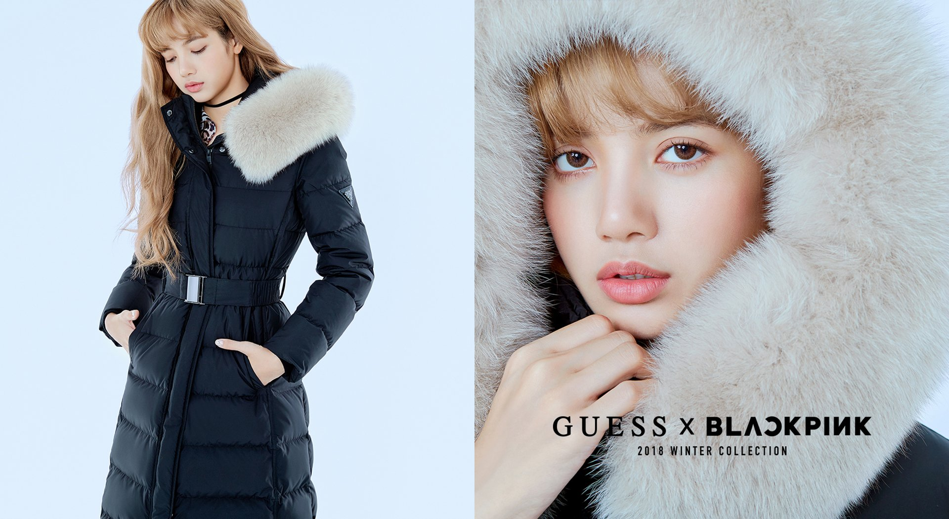 4 Blackpink Lisa Guess Winter Collection 2018 Coat Jacket