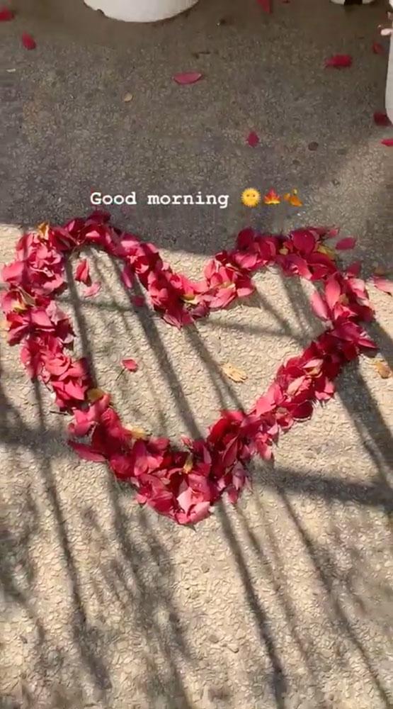 2 Blackpink Rose Instagram Story 4 November 2018