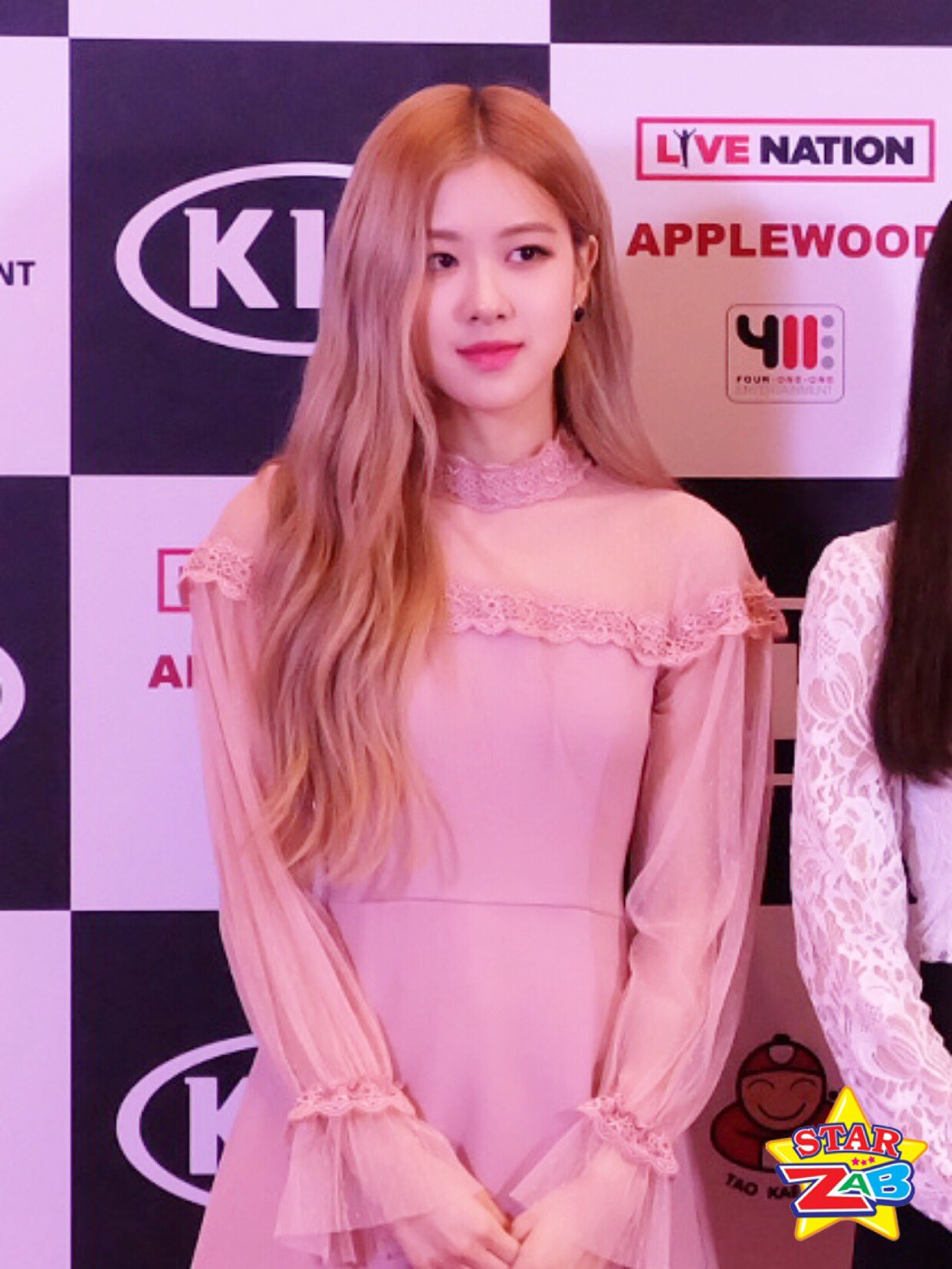 6 Rose Press Conference Blackpink 2019 World Tour Bangkok Thailand
